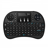 Mini tastatura bluetooth Rii tek i8+ iluminata touchpad compatibila Smart TV