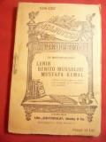 Th.Martinescu-Asau -Lenin ,Mussollini ,Kemal -BPT 1256-1257 ,Univ.Alcalay 136pag