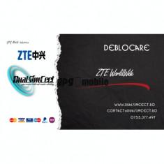 Deblocare ZTE Worldwide