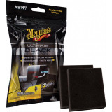 Meguiar's Set 2 Buc Aplicare Plastic Exterior Ultimate Black Trim Sponges G15800