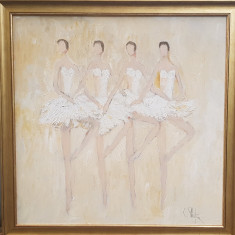 Tablou semnat Constantin Piliuta., Scene gen, Ulei, Impresionism