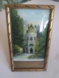 Cumpara ieftin Vatra Dornei-Izvorul Sentinela,mini tablou(carte pos.inramata) 175x100 mm anii30