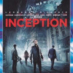 Film Blu Ray: Inception ( cu: Leonardo diCaprio, 2 discuri in stare f. buna )