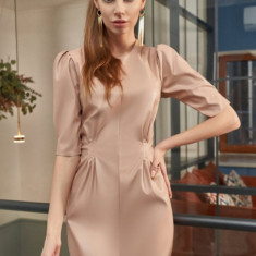 Rochie scurtă din piele