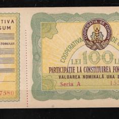 BON VALORIC COOPERATIVA DE CONSUM, 100 LEI