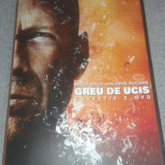 Greu de Ucis ( Die Hard ) colectie 5 dvd - subtitrat romana