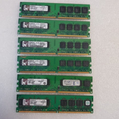 Memorie RAM Kingston 1GB DDR2 667MHz CL5 - poze reale