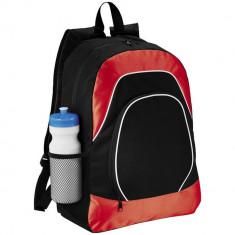 Rucsac Tableta, Everestus, BN, 600D poliester si ripstop, negru, rosu, saculet de calatorie si eticheta bagaj incluse