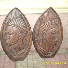 doua basoreliefuri afro