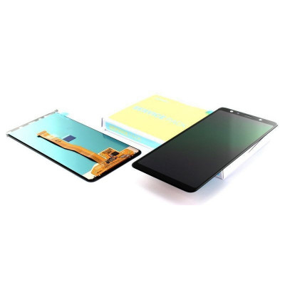 Display Samsung Galaxy A7 (2018) A750 NEGRU foto