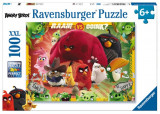 Puzzle Angry Birds, 100 Piese