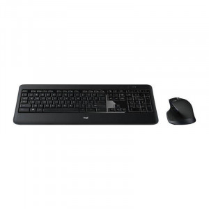 Kit tastatura si mouse Logitech Wireless Performance Combo MX900 Black