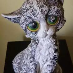 Bibelou vechi  portelan Pisica