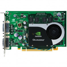 Placa video NVIDIA QUADRO FX370 256MB DDR2 64BIT, 2x DVI, PCI Express