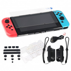 Kit / Set de protectie DOBE 6 in 1 pentru Nintendo Switch