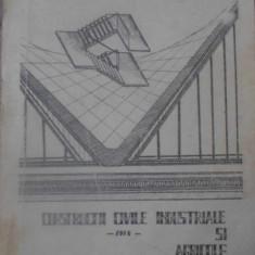 CONSTRUCTII CIVILE, INDUSTRIALE SI AGRICOLE VOL.1 - LIFICIU CONSTANTIN, LEONTE E