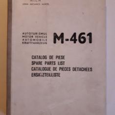 Catalog de piese pentru autoturismul M - 461 / R3S