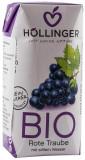 Suc de struguri rosii Bio cu pai Hollinger, 200 ml HOLLINGER