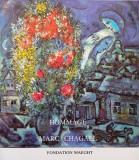 Omagiu lui Marc Chagall -Fondation Maeght,1982 Catalog nou, hartie velina