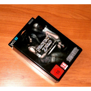 Project Zero Maiden of Black Limited Edition Wii U , de colectie , rar