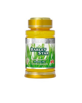 BARLEY STAR – Extract de Orz- 60 tablete foto