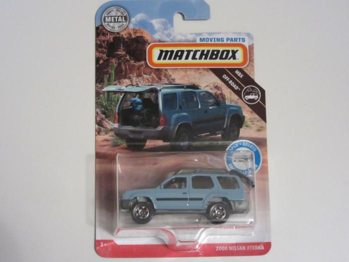 Nissan Xterra 2000 Matchbox