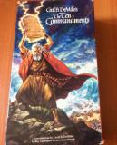 The Ten Commandments ( 1956 )  Caseta Video VHS  ( Coverbox 2 Casete )