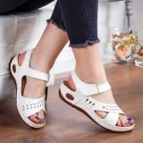 Sandale Damara albe -rl