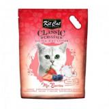 Asternut Igienic Pentru Pisici Kit Cat Crystal Mix Berries, 5 L