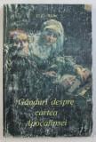 GANDURI DESPRE CARTEA APOCALIPSEI de E. G. WHITE , TG. MURES 1996