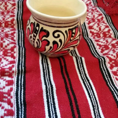 Set cana traditionala si  servet popular  made in ROMANIA