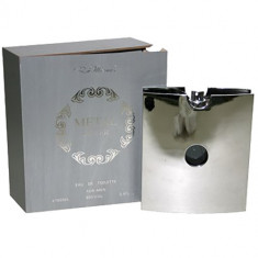 Metal Silver Apa de toaleta Barbati 100 ml