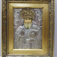 Sf. Ierarh Nicolae, Icoana Romaneasca cu ferecatura