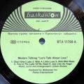 Modern Talking - Let's Talk About Love 2nd Album (1985 Balkanton) disc vinil LP