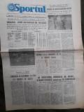 Ziarul Sportul din 13 decembrie 1976