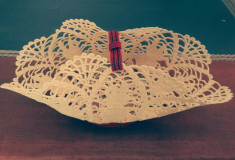 cosulet decorativ lucrat manual - ideal pt Sarbatorile de Paste foto