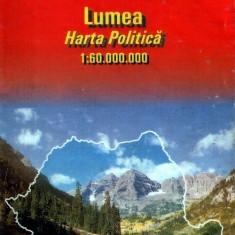 România, harta rutieră (1999)
