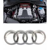 Emblema Capac Motor Oe Audi Q7 4L 2006-2016 4H0103940