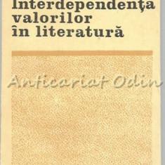 Interdependenta Valorilor In Literatura - Grigore Smeu