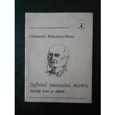 CONSTANTIN RADULESCU MOTRU - SUFLETUL NEAMULUI NOSTRU (16 pagini, cu sublinieri)