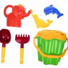 """Set jucarii cu galetusa si unelte pentru nisip """"Castle"""" cu 7 accesorii - 8101V"""