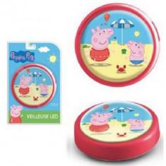Lampa de veghe Peppa Pig rosie
