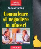 Comunicare si negociere in afaceri Stefan Prutianu
