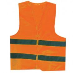 Vesta reflectorizanta portocalie XL Top Strong
