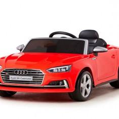 Kinderauto Audi S5 Cabriolet 2x35W CU ROTI MOI 12V Rosu