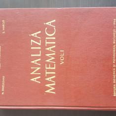 Analiza Matematica Vol.1 - M. Nicolescu. 1966