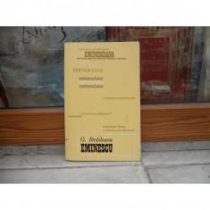 MIHAI EMINESCU STUDII SI ARTICOLE , G. IBRAILEANU