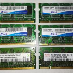 Cumpara ieftin Memorii RAM laptop 1 GB / DDR2 / 400 MHz / PC3200 / CL-5