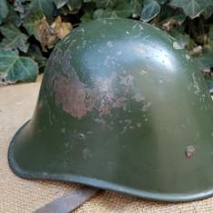 Casca militara romaneasca, WW2, model olandez