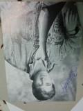 Fotografie cu autograf stefen hendry